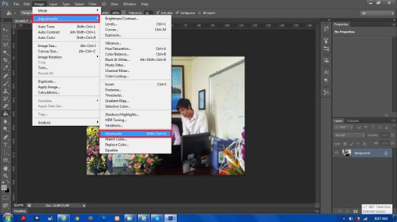 Chuyển ảnh Màu Thành ảnh đen Trắng Trong Photoshop