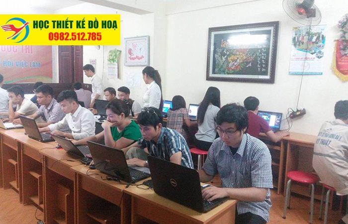 học photoshop tại Long Biên