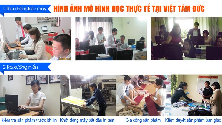 Mô hình học illustrator tại Hà Nội của Việt Tâm Đức