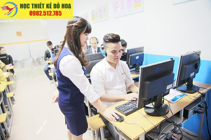 Lớp học thiết kế đồ họa tại Nhân Mỹ, Phú Đô