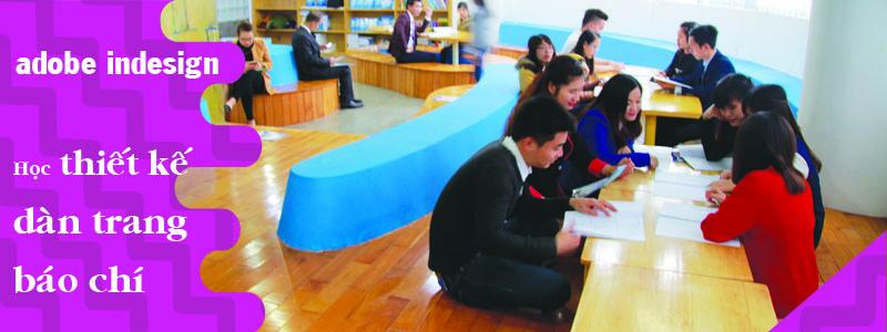Buổi học chia sẽ kinh nghiệm tại lớp học Indesign của VTD