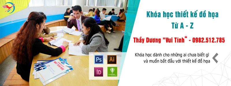 Lớp học thiết kế đồ họa tại Việt Tâm Đức