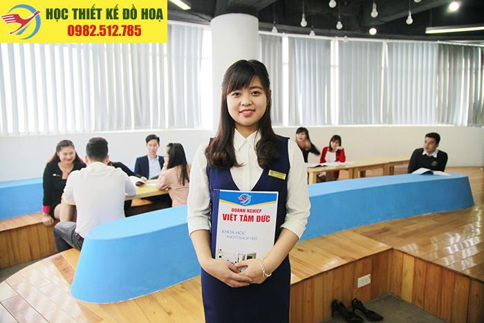 Khóa học thiết thiết kế đồ họa Coreldraw tại Thanh Trì