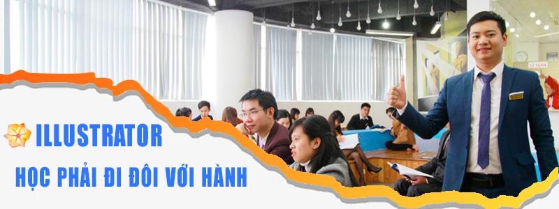 Môi trường học  Illustrator tại Việt Tâm Đức