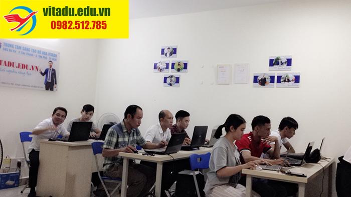 Sản phẩm của học viên saukhóa học illustrator tại Giải Phóng,Hà Nội