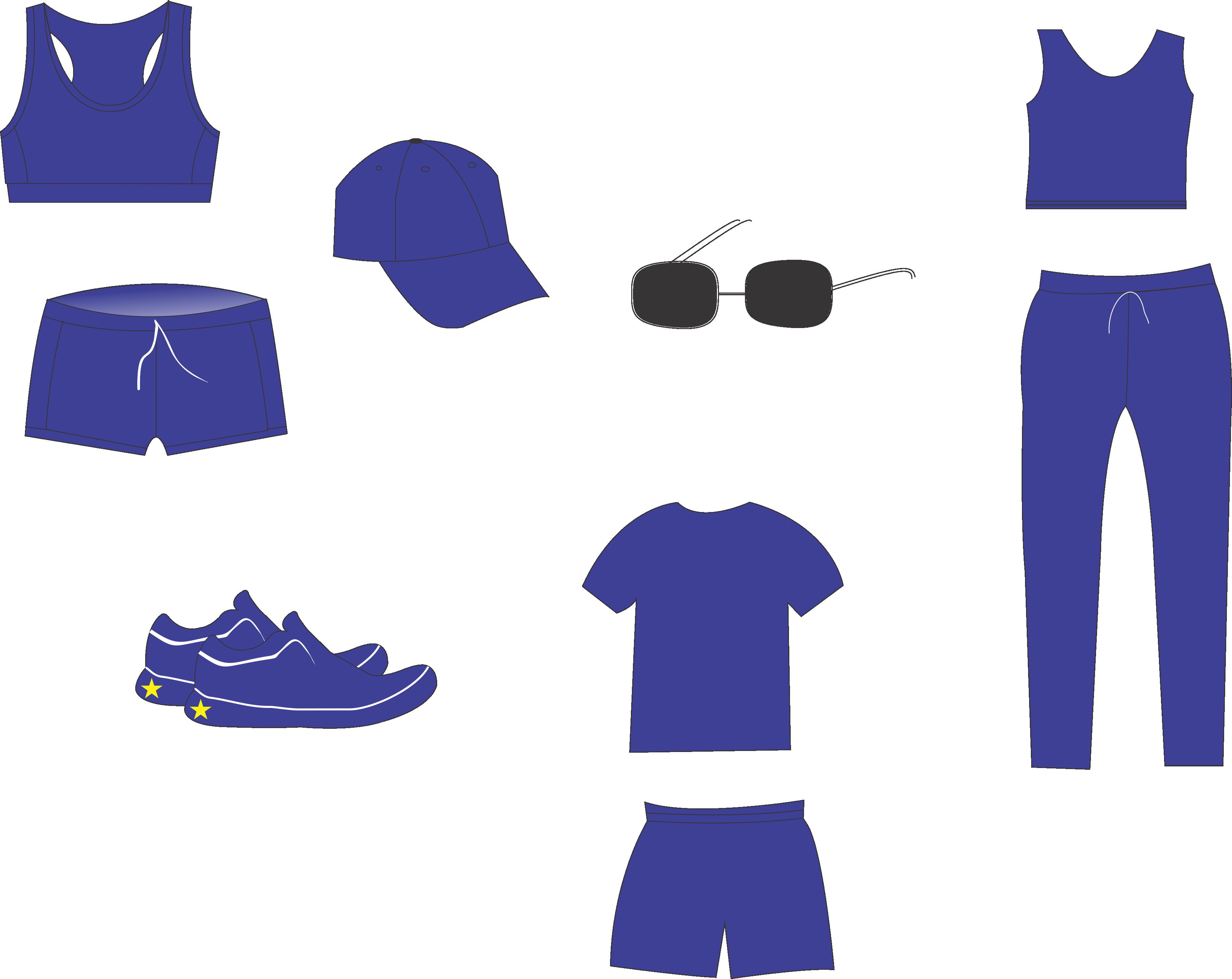 Những đồ dùng được thiết kế bằng đồ họa corel