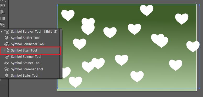 cách phun ra hình trái tim