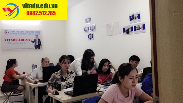 Lớp học indesign tại phường Bình Trị Đông B quận Bình Tân tphcm