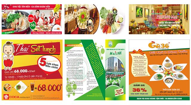 Sản phẩm của học viên sau khóa học thiết kế đồ họa làm quảng cáo tại Hà Đông, Hà Nội