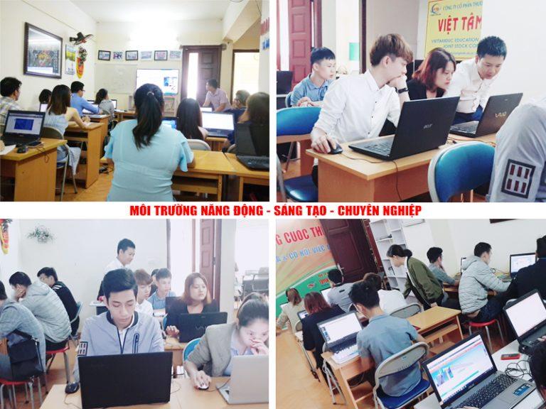 Hình ảnh lớp học thiết kế đồ họa tại Dương Nội, Hà Đông, Hà Nội