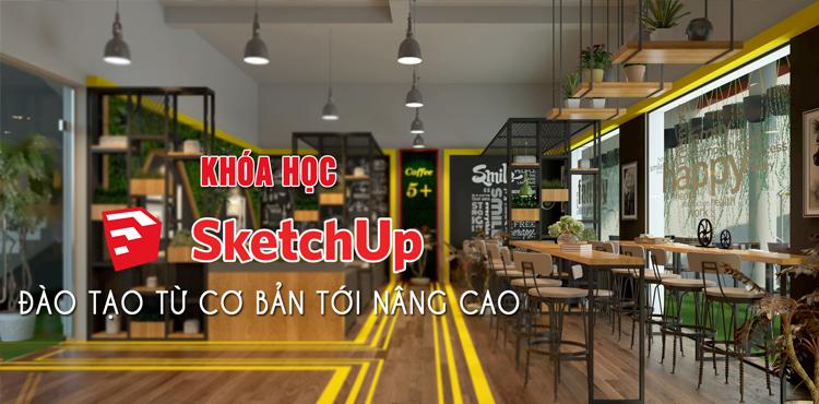 Học Sketchup - Vray tại La Khê, Hà Đông, Hà Nội