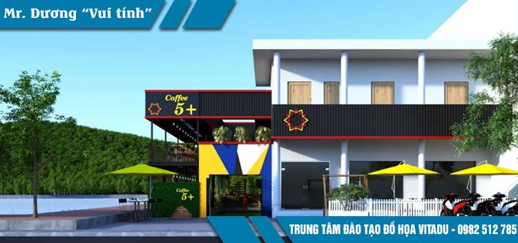 Học 3DsMax Vray tại Vĩnh Long TPHCM