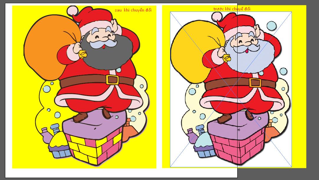 Hình ảnh sản phẩm bitmap ảnh sang file vector