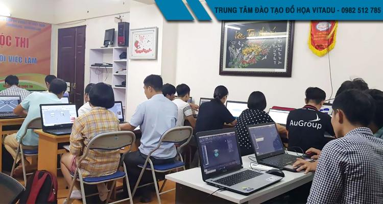 Lớp học photoshop tại 234 Phạm Văn Đồng