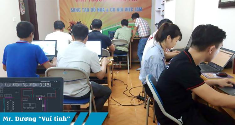 Khóa học autocad tại Mỹ Đình Nam Từ Liêm