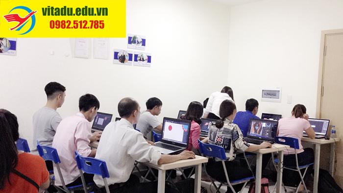 lớp học photoshop uy tín chất lượng tại HCM